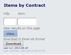 Item by Contract - Download enabled no styling